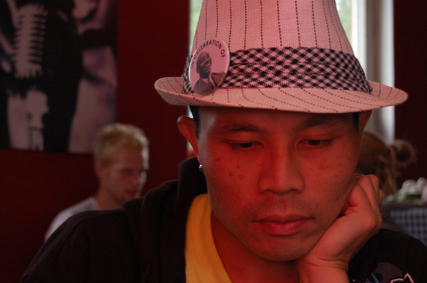 Rik Panganiban at Herrang Dance Camp, August 2010. Photo Credit: Michael Blank